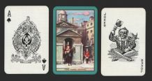 Vintage Narrow named collectable playing cards  Horse Guards
